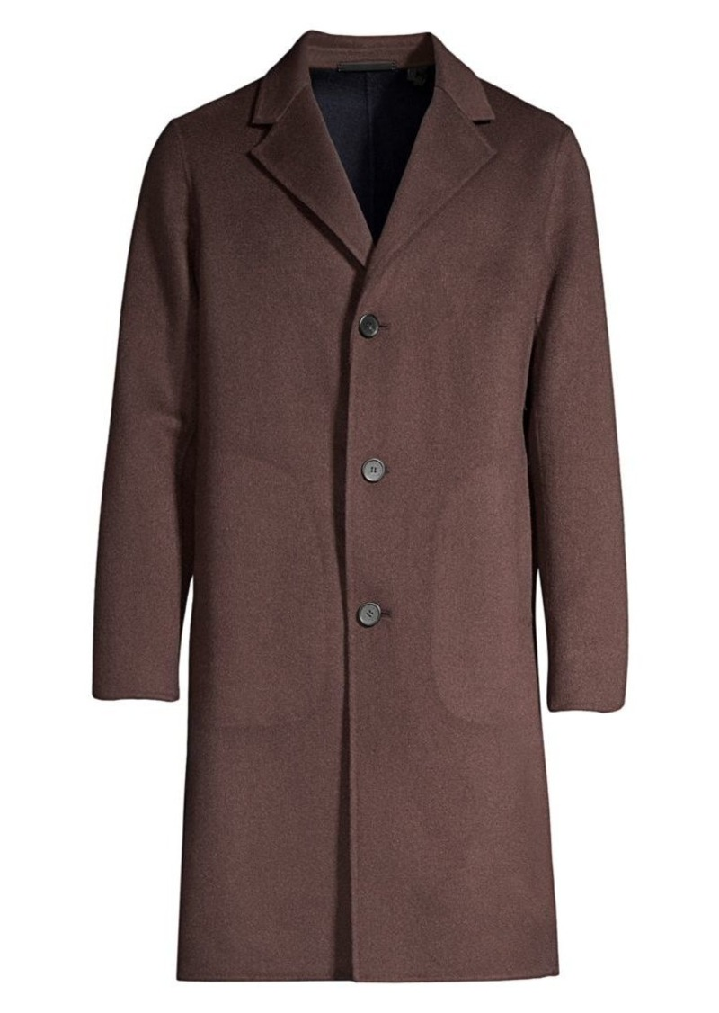 Theory Tokyo Double Suffolk Cashmere Coat