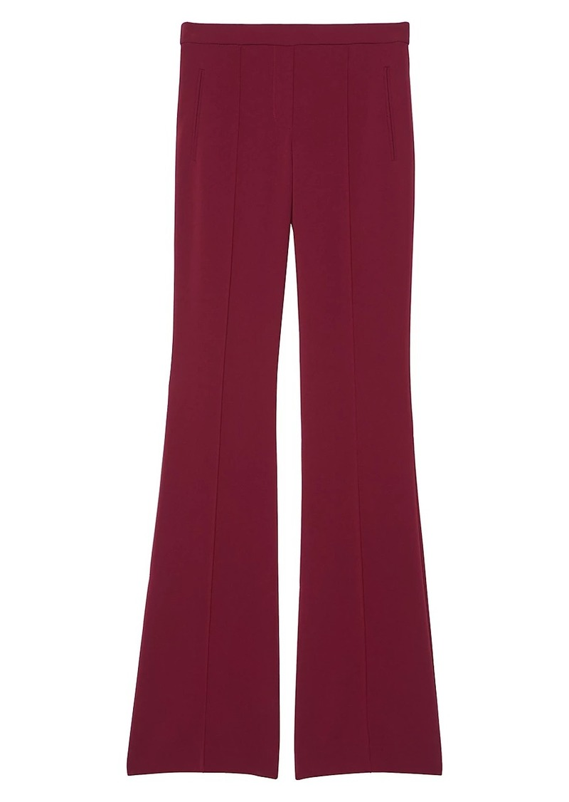 Theory Demitria Pull-On Flared Pants