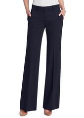 Theory Demitria Wool Flare Pants