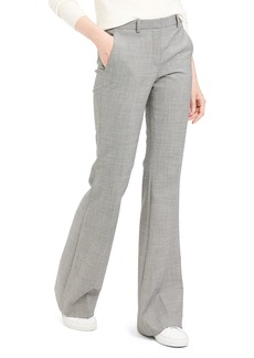 Theory Demitria Wool Flared Pants