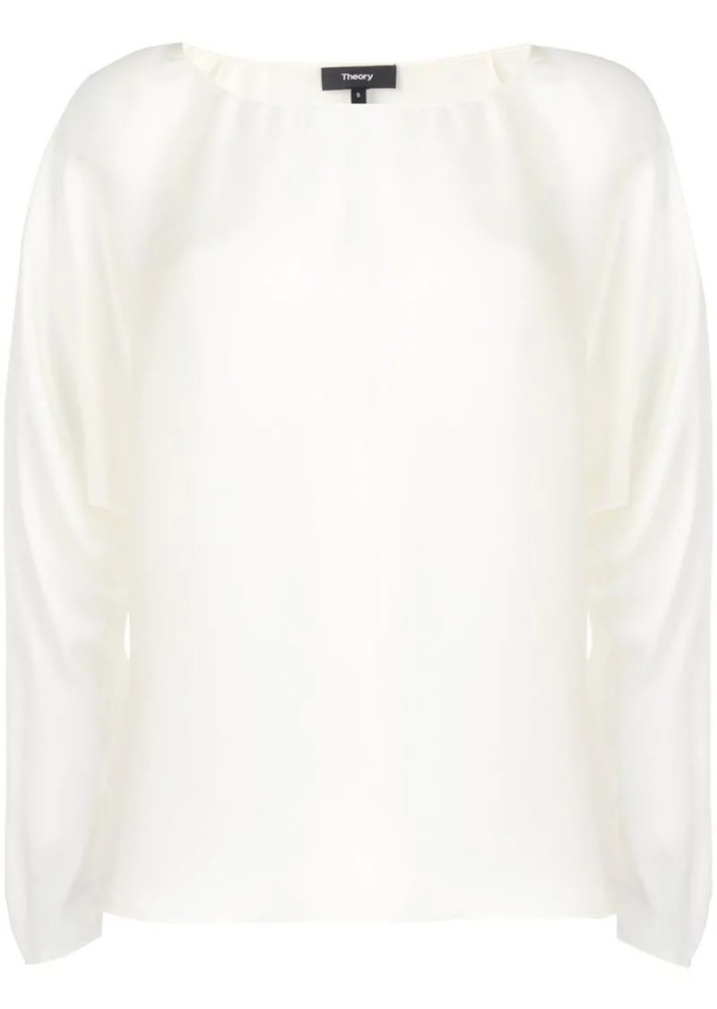 Theory Dolman lightweight blouse