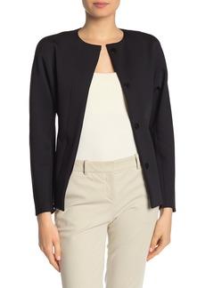 Theory Dolman Sleeved Jersey Jacket