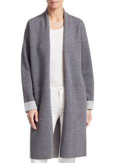 Theory Double Face Wool-Blend Cardigan