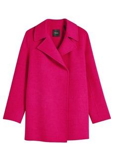 Theory Double-Faced Overlay Coat