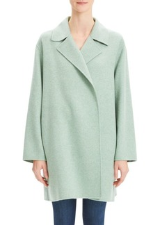 Theory Double Faced Virgin Wool Cashmere Coat