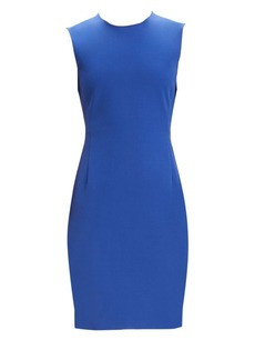 Theory Double Stretch Sleeveless Sheath Dress