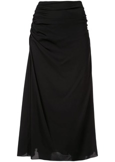 Theory drape detail skirt