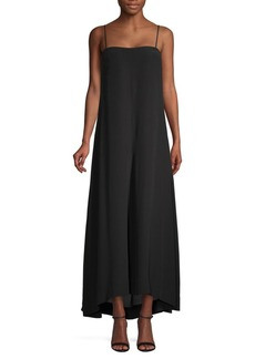 Theory Drewie High-Low Maxi Dress