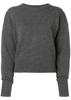 Theory cashmere drop shoulder sweater