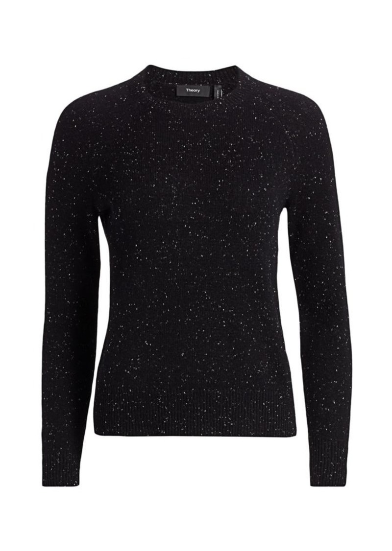 Theory Easy Donegal Cashmere Sweater