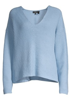 Theory Easy Knit V-Neck Sweater