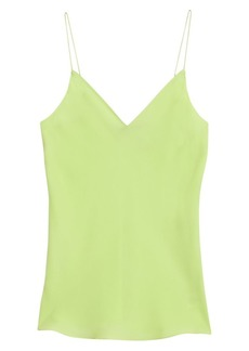 Theory Easy Neon Silk Camisole