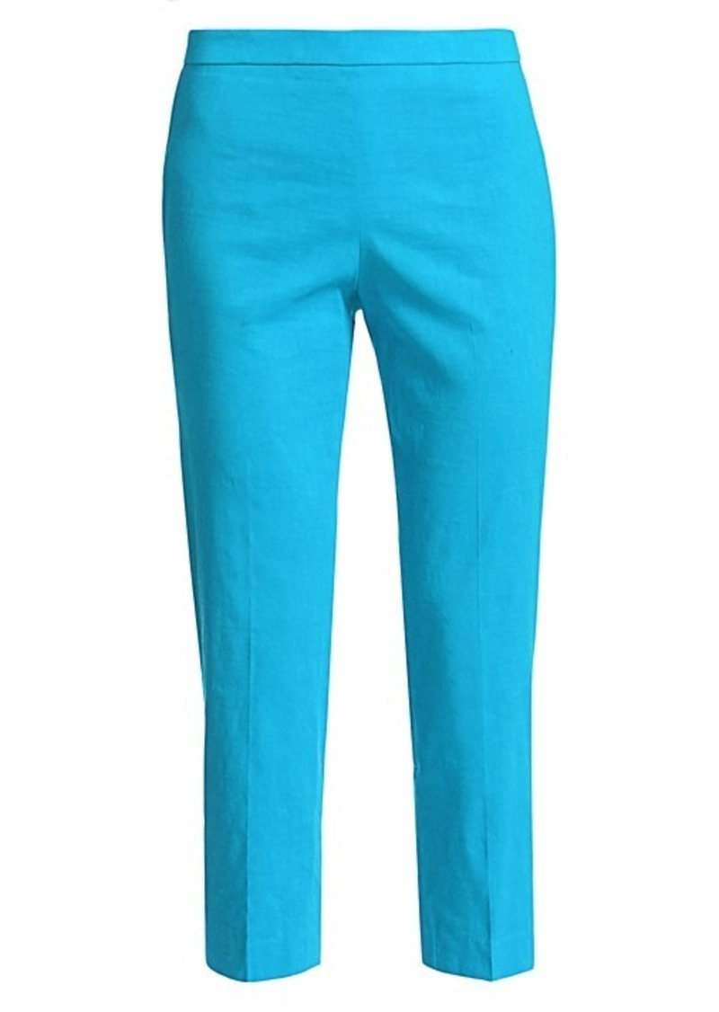 Theory Eco Crunch Slim Ankle Pants