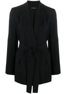 Theory Eco Rosina belted blazer