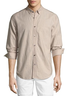 Theory Edward Essential Linen/Cotton Sport Shirt