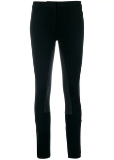 Theory elasticated panel skinny trousers