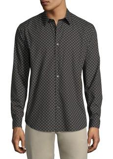 Theory Ellipse-Print Cotton Sport Shirt