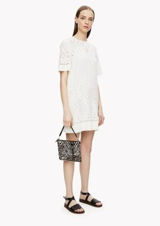 Theory Embroidered Shift Dress