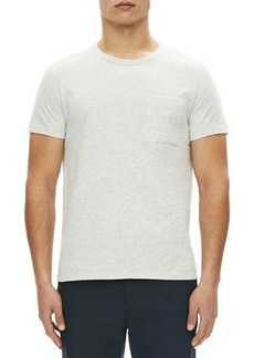 Theory Essential Cotton Pocket T-Shirt