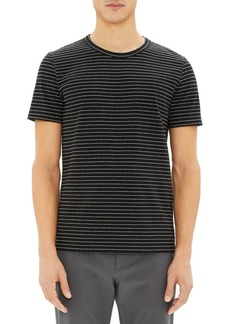 Theory Essential Yarn-Dyed Striped Tee
