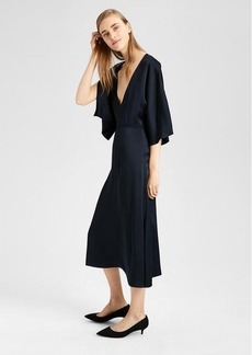 Theory Evening V-Neck Dress