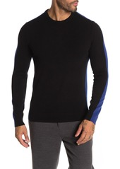 Theory Evers Colorblock Cashmere Sweater