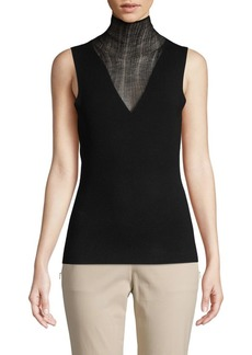 Theory Faux Double Layer Wool Shell