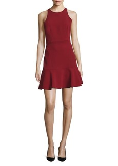 Theory Felicitina Ruffle Hem Dress