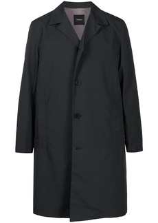 Theory fitted single breasted coat