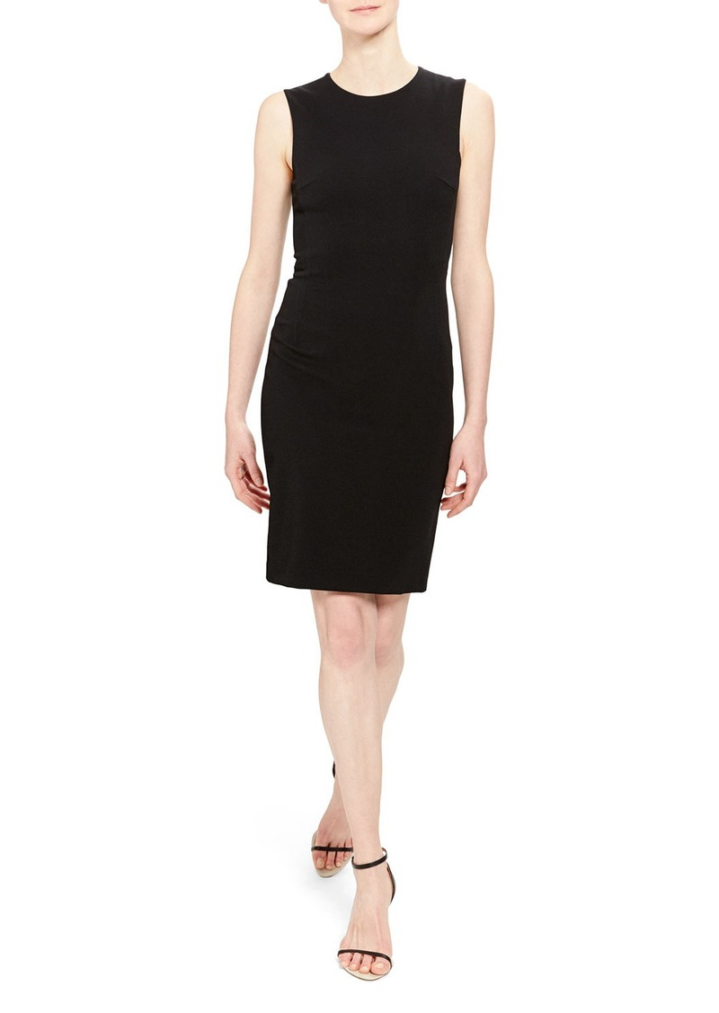 Theory Fitted Sleeveless Short Dress