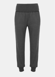 Theory Flannel Ribbed Jogger Pant