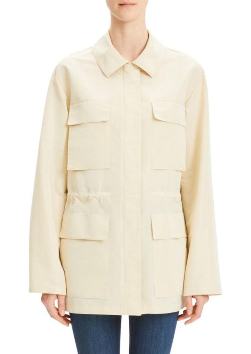 Theory Flap Pocket Anorak Jacket