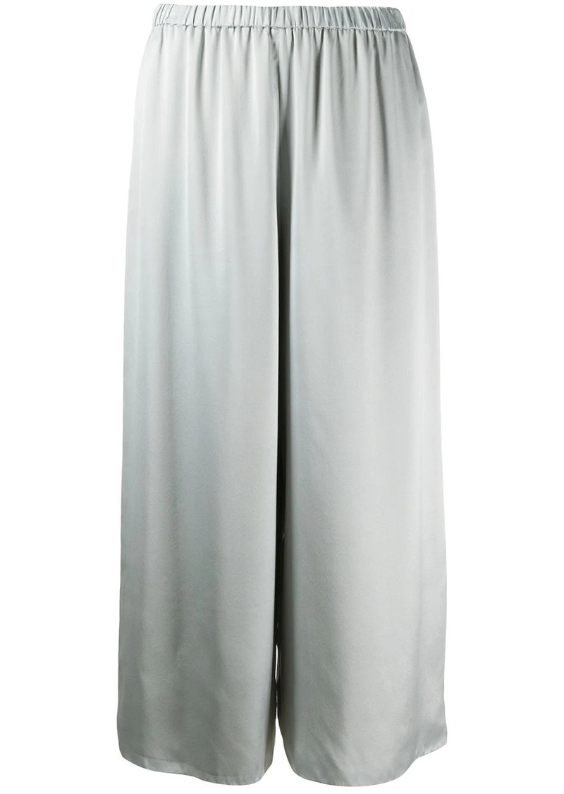 Theory fluid pull on silk trousers