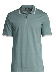 Theory Forge Bold Stripe Polo