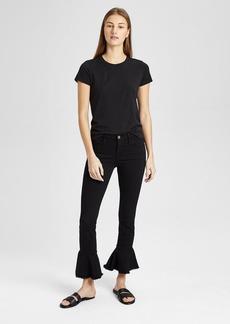 Theory Frame Le Skinny De Jeanne Flounce Jeans