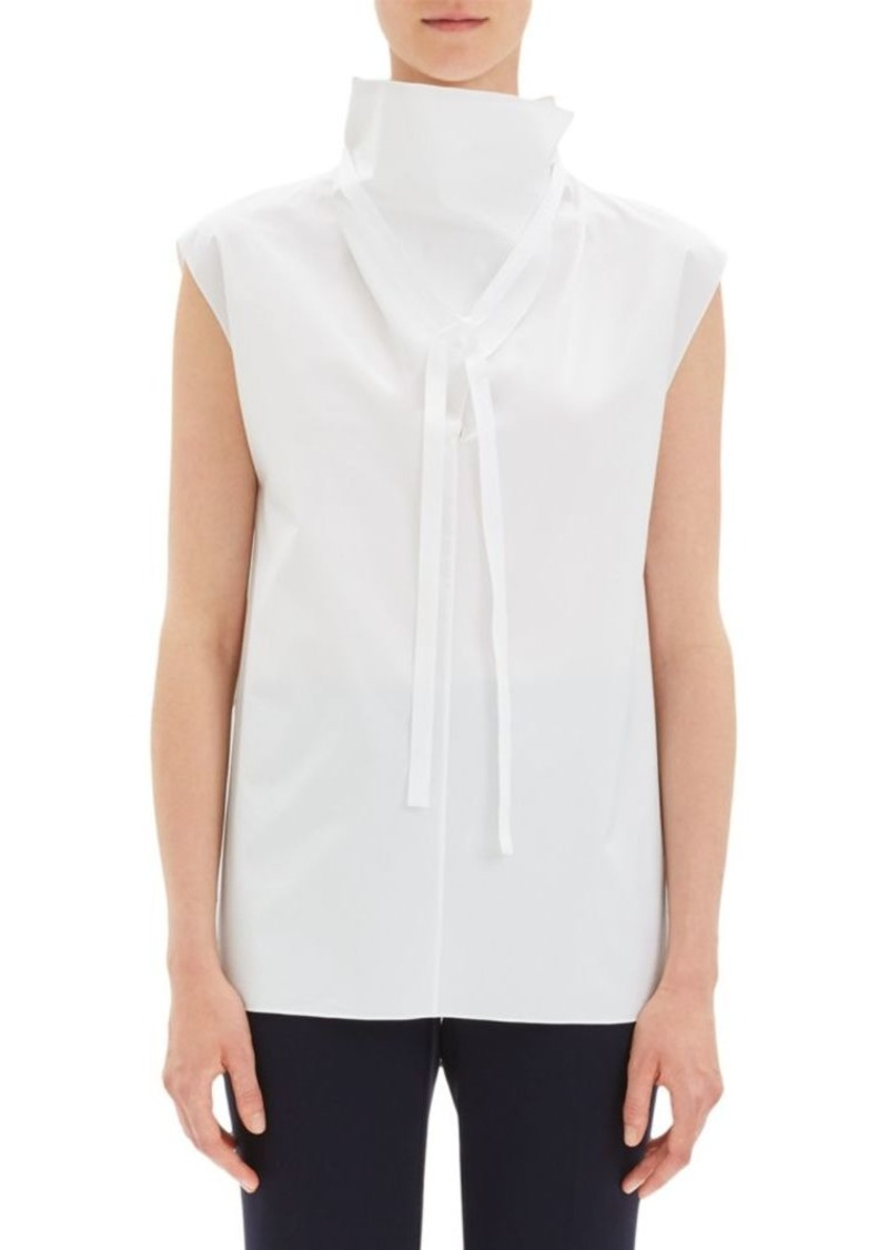 Theory Funnelneck Tie Top