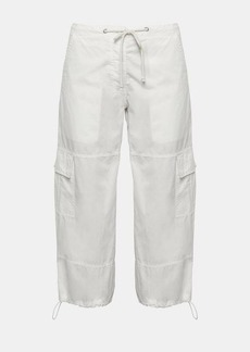 Theory Garment-Dyed Poplin Utility Cargo Pant