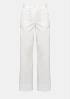 Theory Garment-Dyed Twill Carpenter Pant