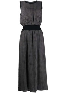 Theory geometric sleeveless dress