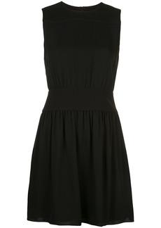 Theory georgette blouson dress