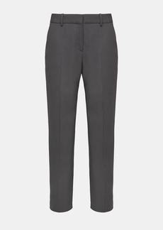 Theory Good Wool Classic Slim Crop Pant