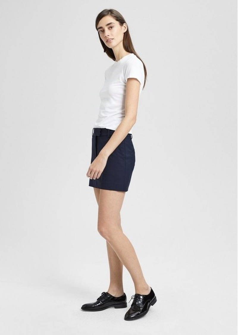 0d32c16600142a Grey Wool Mini Skirt