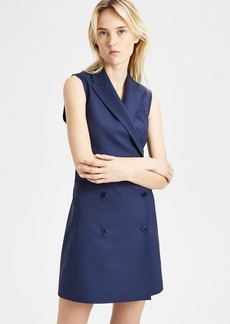 Theory Good Wool Sleeveless Blazer Dress