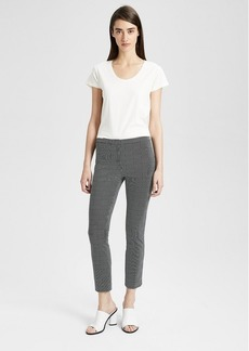 Theory Graphic Check Classic Skinny Pant