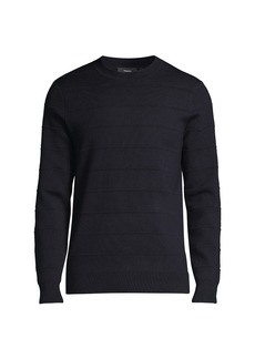 Theory Gregson Merino Wool Crew Sweater