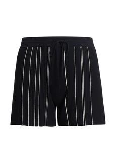 Theory Hankson Striped Shorts