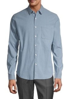 Theory Harbor Cotton Shirt