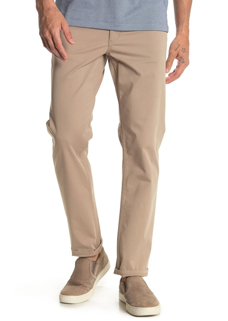 Theory Haydin Straight Slim Twill Pants