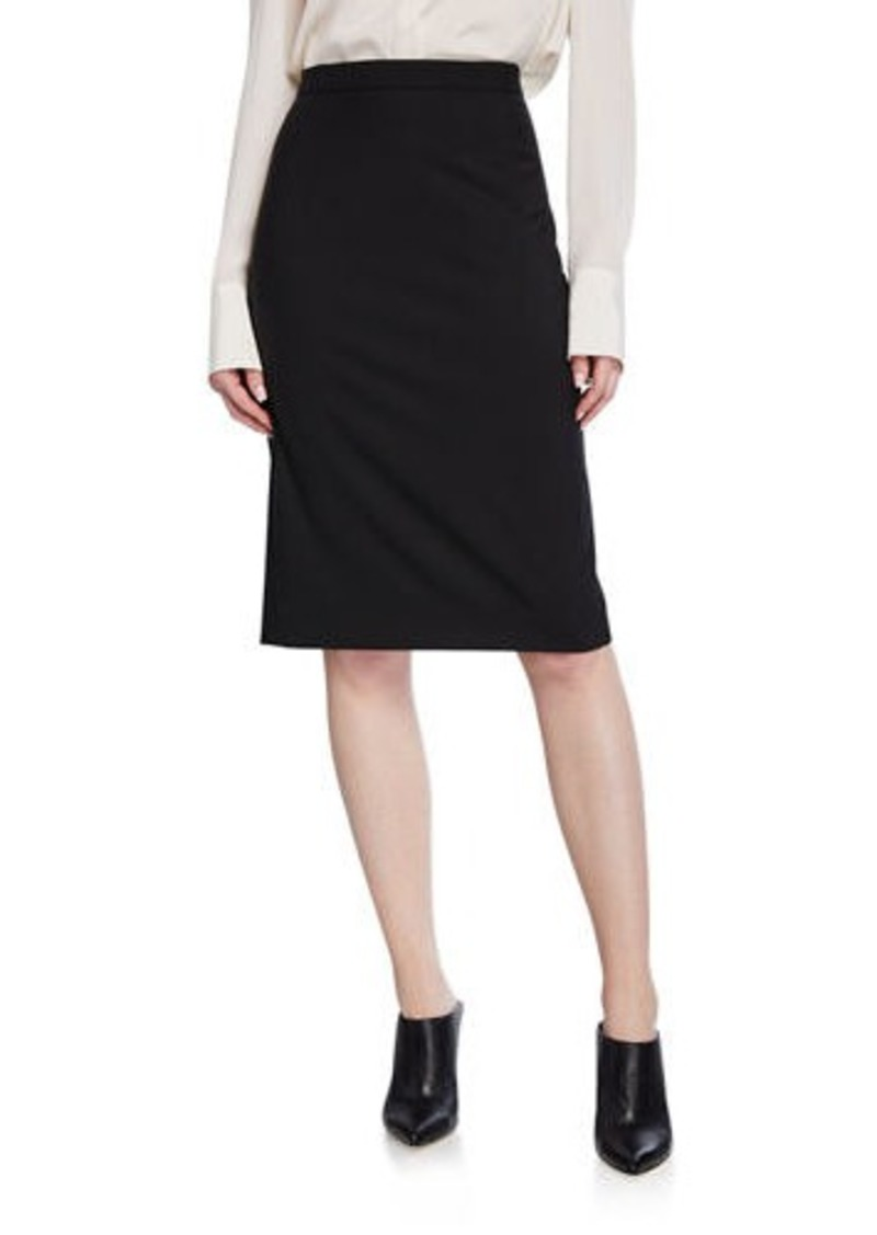 Theory Hemdall Good Wool Suiting Pencil Skirt