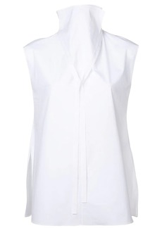 Theory high neck sleeveless blouse